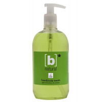B`Natural Dispenser Hair & Body Wash 500 ml Eco Label